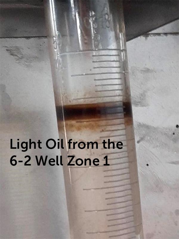 Light Oil 6 2 Well Zone 1