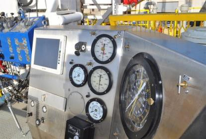 ReconAfrica Crown 1000 HP Drilling Rig Gauges